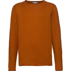 Selected Femme/Homme Herren Pullover, orangebraun