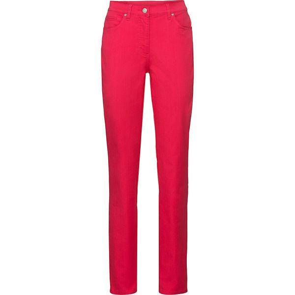 Adagio Damen Jeans, Kurzgröße, rot, 22