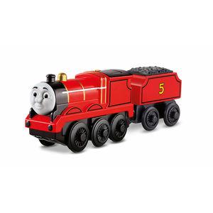 Fisher-Price Thomas und seine Freunde - batteriebetriebene Holzeisenbahn James