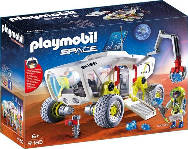 PLAYMOBIL 9489 Mars Erkundungsfahrzeug