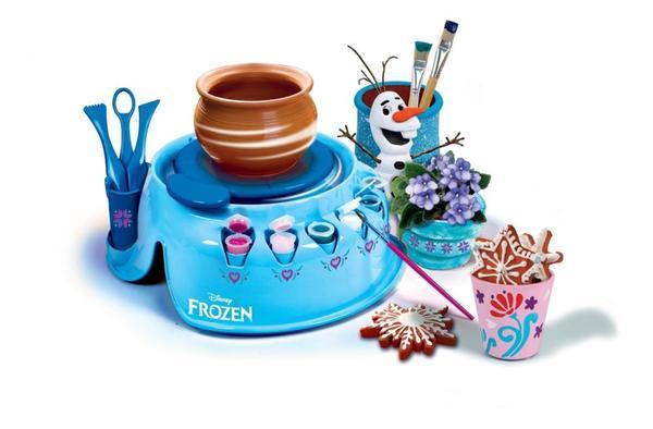 Clementoni Töpferscheibe Disney Die Eiskönigin