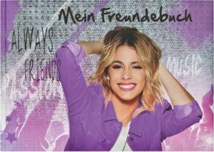 Freundebuch A5 Violetta
