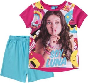 DISNEY SOY LUNA Schlafanzug Gr. 128/134 Mädchen Kinder