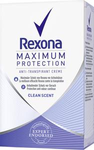 Rexona Maximum Protection Anti-Transpirant Creme Clean Scent 45 ml