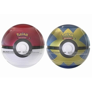 Pokémon - Tin-Box Pokéball, sortiert