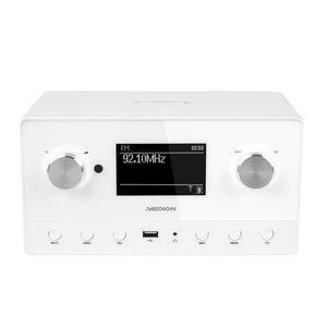 MEDION Sparpaket - 1 x MEDION® LIFE® P85066 Internetradio + 1 x MEDION® LIFE® P61084 WLAN Multiroom Lautsprecher