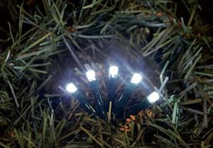 TrendLine LED Lichterkette 200 flammig weiß ,  weiss, für außen geeignet