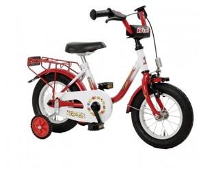 Bachtenkirch 12,5´´ Kinderrad Bibi ,  rot-weiß