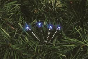 TrendLine LED Lichterkette 200 ,  blau, für außen geeignet