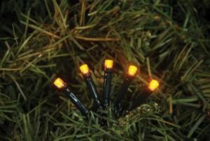 TrendLine LED-Lichterkette mit 500 LED ,  gelb, für außen geeignet