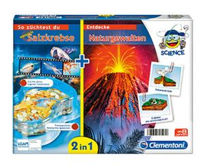 Clementoni®  2-in-1 Experimentierkasten für Kinder