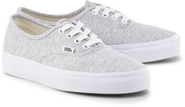 Sneaker Ua Authentic von Vans in grau für Damen. Gr. 38.5