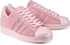 Sneaker Superstar 80s von Adidas Originals in rosa für Damen. Gr. 36,36 2/3,37 1/3,38,38 2/3,39 1/3,40,40 2/3,41 1/3,42