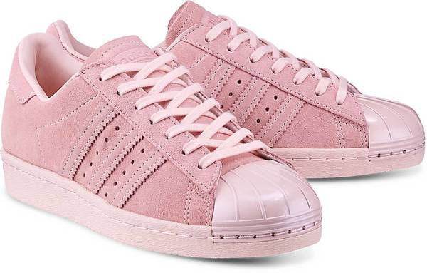 Sneaker Superstar 80s von Adidas Originals in rosa für Damen. Gr. 36,36 2/3,37 1/3,38,38 2/3,39 1/3,40,40 2/3,41 1/3,42