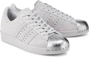 Sneaker Superstar 80s von Adidas Originals in grau für Damen. Gr. 36 2/3,37 1/3,38,38 2/3,39 1/3,40,40 2/3,41 1/3