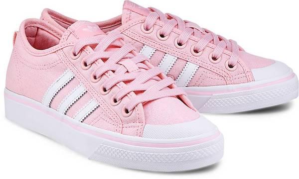 Sneaker Nizza W von Adidas Originals in rosa für Mädchen. Gr. 36 2/3,37 1/3,38,38 2/3,39 1/3,40,40 2/3,41 1/3