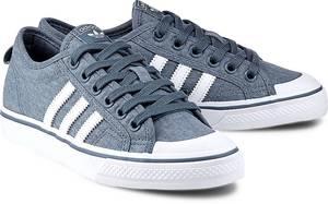 Sneaker Nizza W von Adidas Originals in blau für Mädchen. Gr. 36 2/3,38,38 2/3,39 1/3
