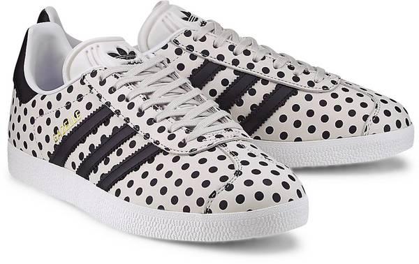 Sneaker Gazelle W von Adidas Originals in weiß für Damen. Gr. 36 2/3,38 2/3