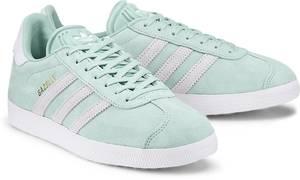 Sneaker Gazelle von Adidas Originals in mint für Mädchen. Gr. 36,36 2/3,37 1/3,38,38 2/3,39 1/3,40,40 2/3,41 1/3,42,42 2/3,43 1/3