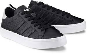 Sneaker Courtvantage von Adidas Originals in schwarz für Damen. Gr. 36,36 2/3,37 1/3,38,38 2/3,39 1/3,40,40 2/3,41 1/3