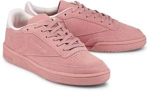 Sneaker Club C 85 Nbk von Reebok Classic in rosa für Mädchen. Gr. 36,37,37.5,38,38.5,39,40,40.5,41