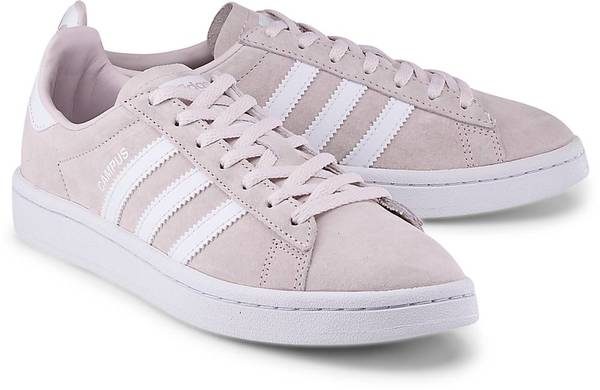 Sneaker Campus W von Adidas Originals in rosa für Mädchen. Gr. 36,36 2/3,39 1/3,40,41 1/3,42