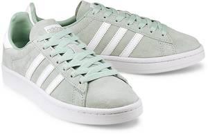Sneaker Campus von Adidas Originals in mint für Mädchen. Gr. 36,36 2/3,37 1/3,38,40 2/3,41 1/3,42,42 2/3,43 1/3