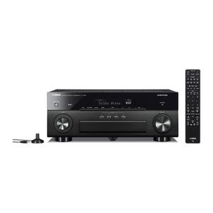 YAMAHA RX-A880 Schwarz - 7.2 AV-Receiver (240 Watt, Bluetooth, Wi-Fi, DAB+)