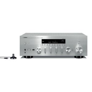 YAMAHA R-N803D Silber - 2.1 AV-Receiver (290 Watt, Bluetooth, Wi-Fi, DAB+, DLNA)