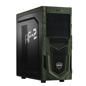 Hyrican Military PCK05886 Gaming-PC [i5-8400 / 16GB RAM / 120GB SSD / 1TB HDD / GTX 1050 Ti / Intel H310 / Win10]