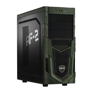 Hyrican Military PCK05886 Gaming-PC [i5-8400 / 16GB RAM / 120GB SSD / 1TB HDD / GTX 1050 Ti / Intel H310 / Win10]