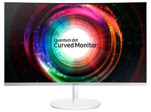 Samsung Curved Monitor C27H711 - 69 cm (27 Zoll), VA-Panel, Quantum Dot, WQHD, AMD FreeSync, HDMI