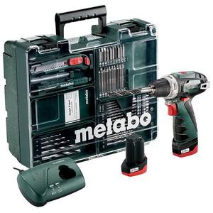 Metabo Akku-Bohrschrauber Powermaxx BS Basic Mobile Werkstatt inkl. 2 x 10,8V / 2,0Ah