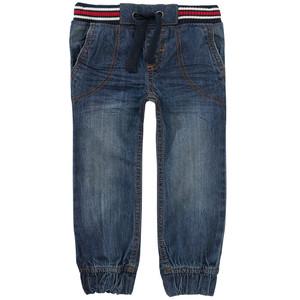 Jungen Pull-on Jeans mit gestreiftem Bund