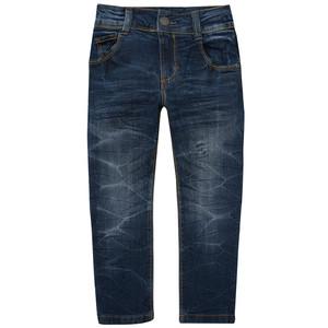 Jungen Straight-Jeans mit Kontrastnähten