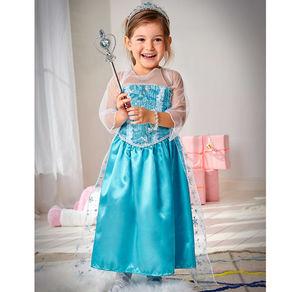 Kinder-Eisprinzessin-Kostüm in verschiedenen Größen