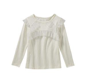 Kids Mädchen-Shirt mit verspielten Rüschen