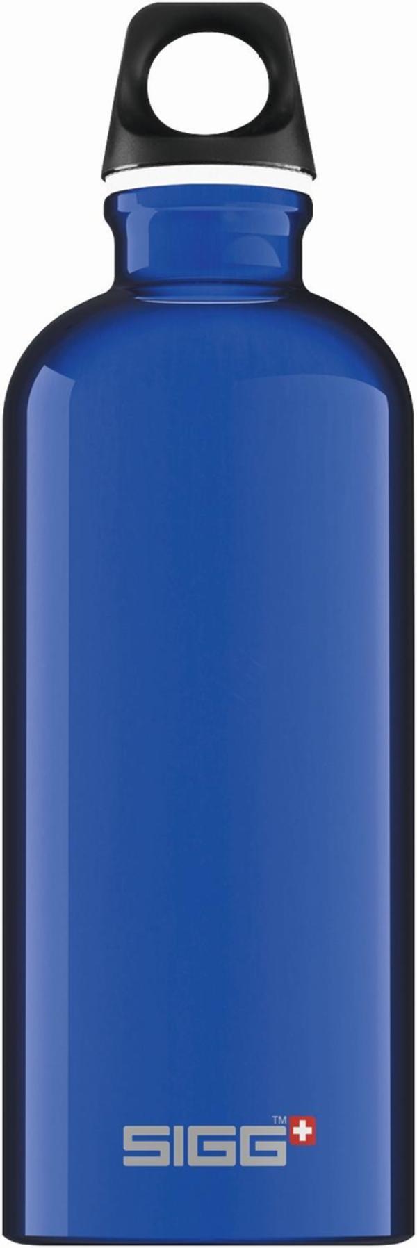 SIGG Trinkflasche Alu Traveller Dark Blue 0.6l