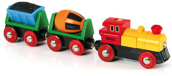 BRIO World Zug mit Batterielok