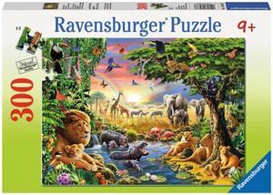 Ravensburger Puzzle Abendsonne am Wasserloch