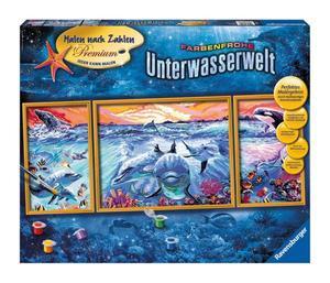 Ravensburger Malen nach Zahlen Unterwasserwelt