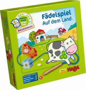 HABA Fädelspiel Meine erste Spielwelt Bauernhof