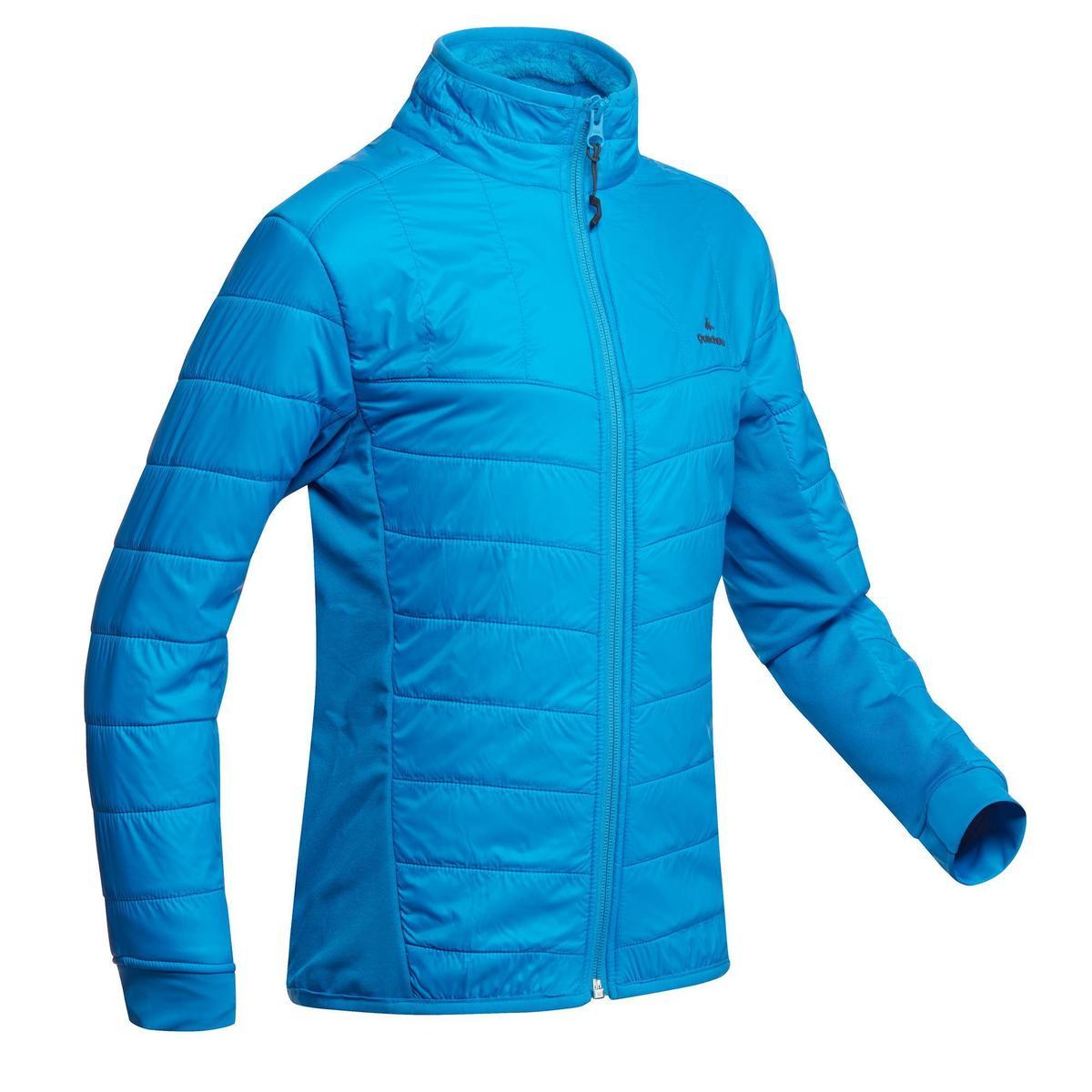 Bild 1 von Hybridjacke Winterwandern SH500 X-Warm Kinder blau