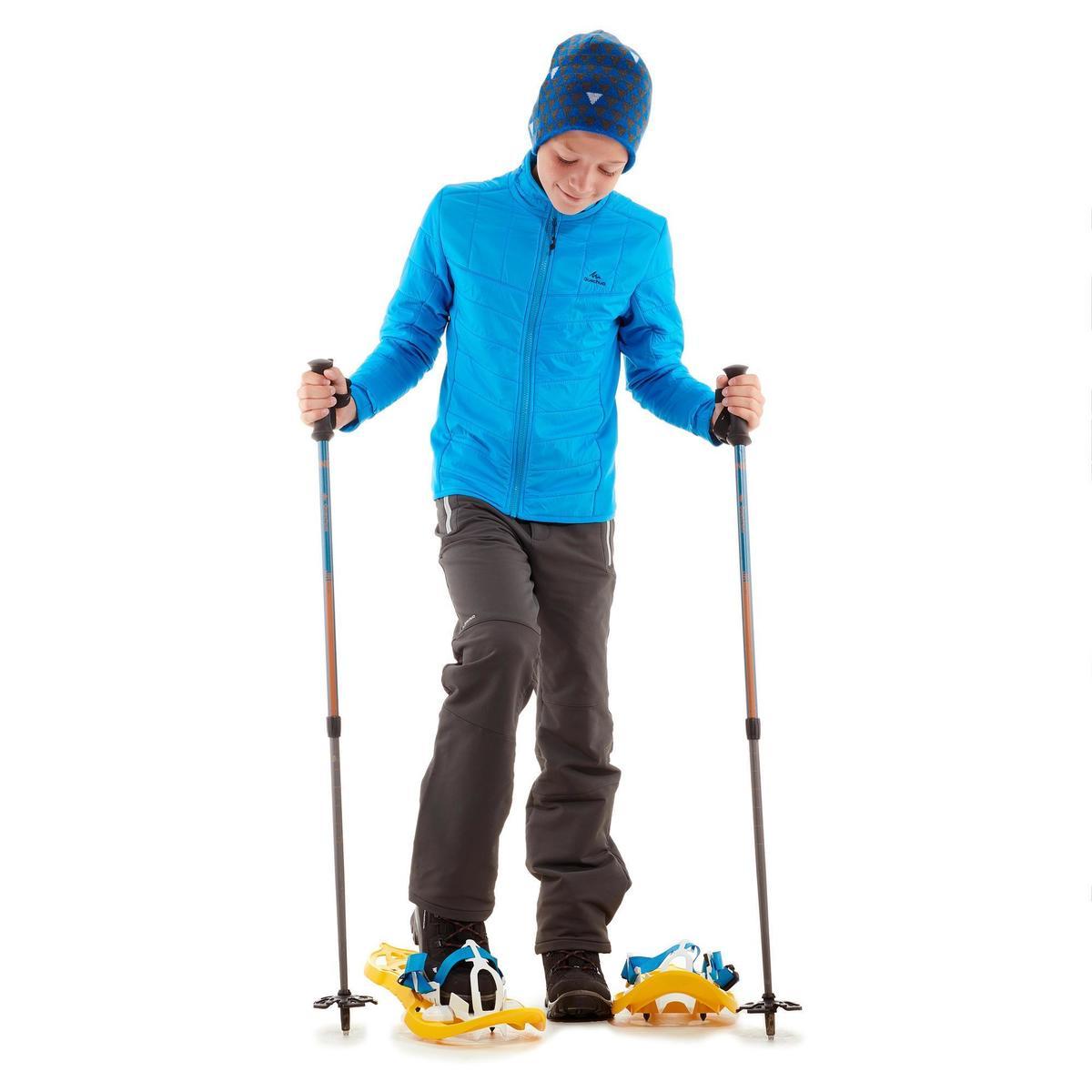 Bild 2 von Hybridjacke Winterwandern SH500 X-Warm Kinder blau