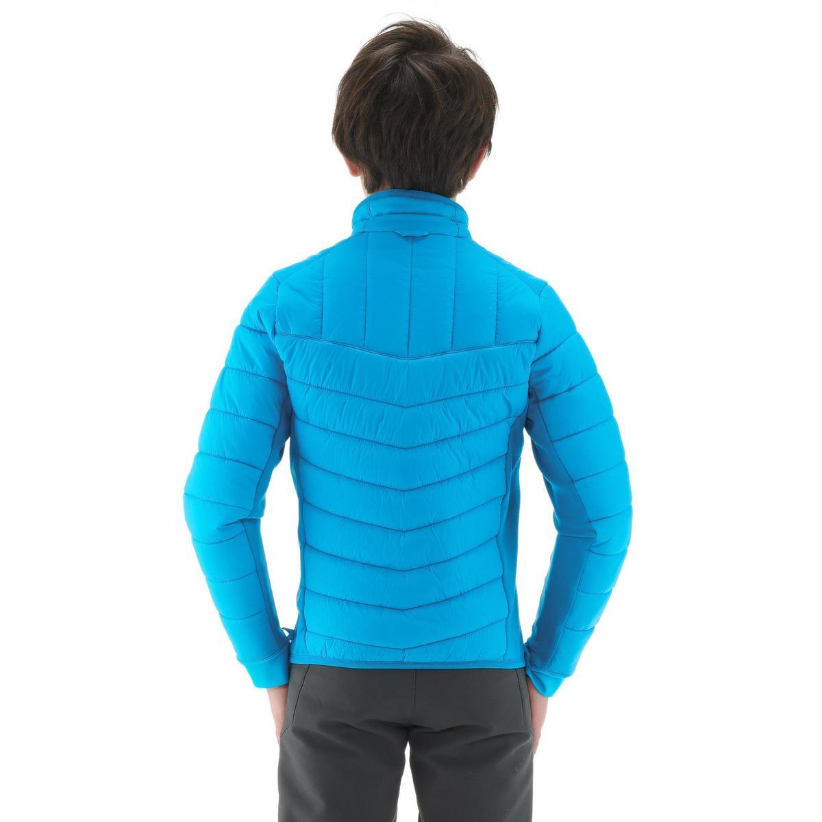 Bild 4 von Hybridjacke Winterwandern SH500 X-Warm Kinder blau