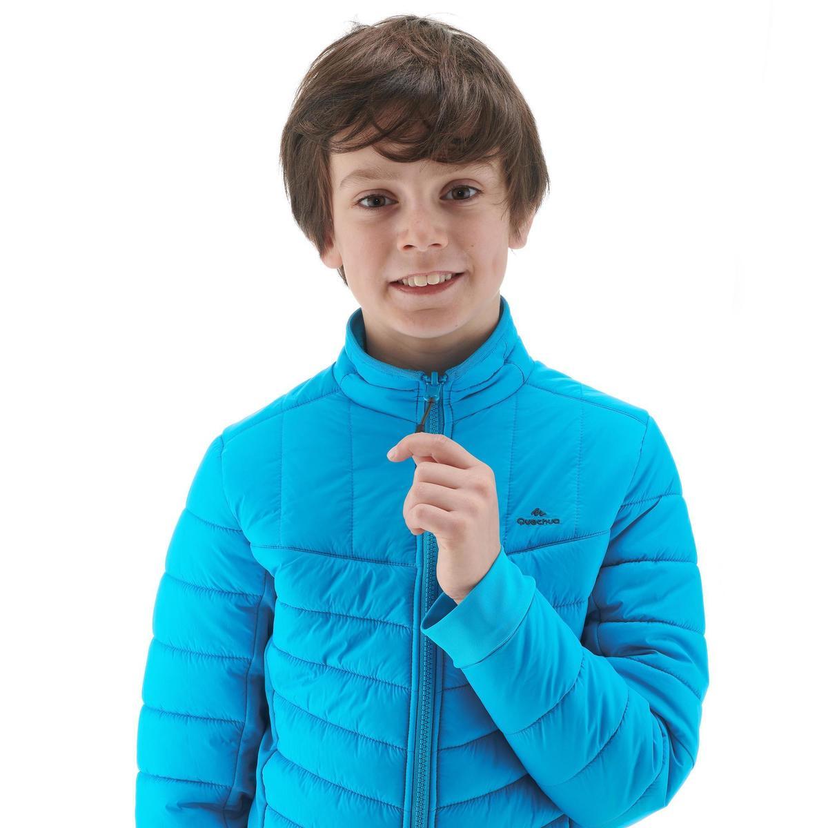 Bild 5 von Hybridjacke Winterwandern SH500 X-Warm Kinder blau