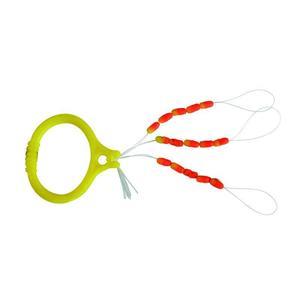Schnurstopper zweifarbig Nylon Raubfischangeln