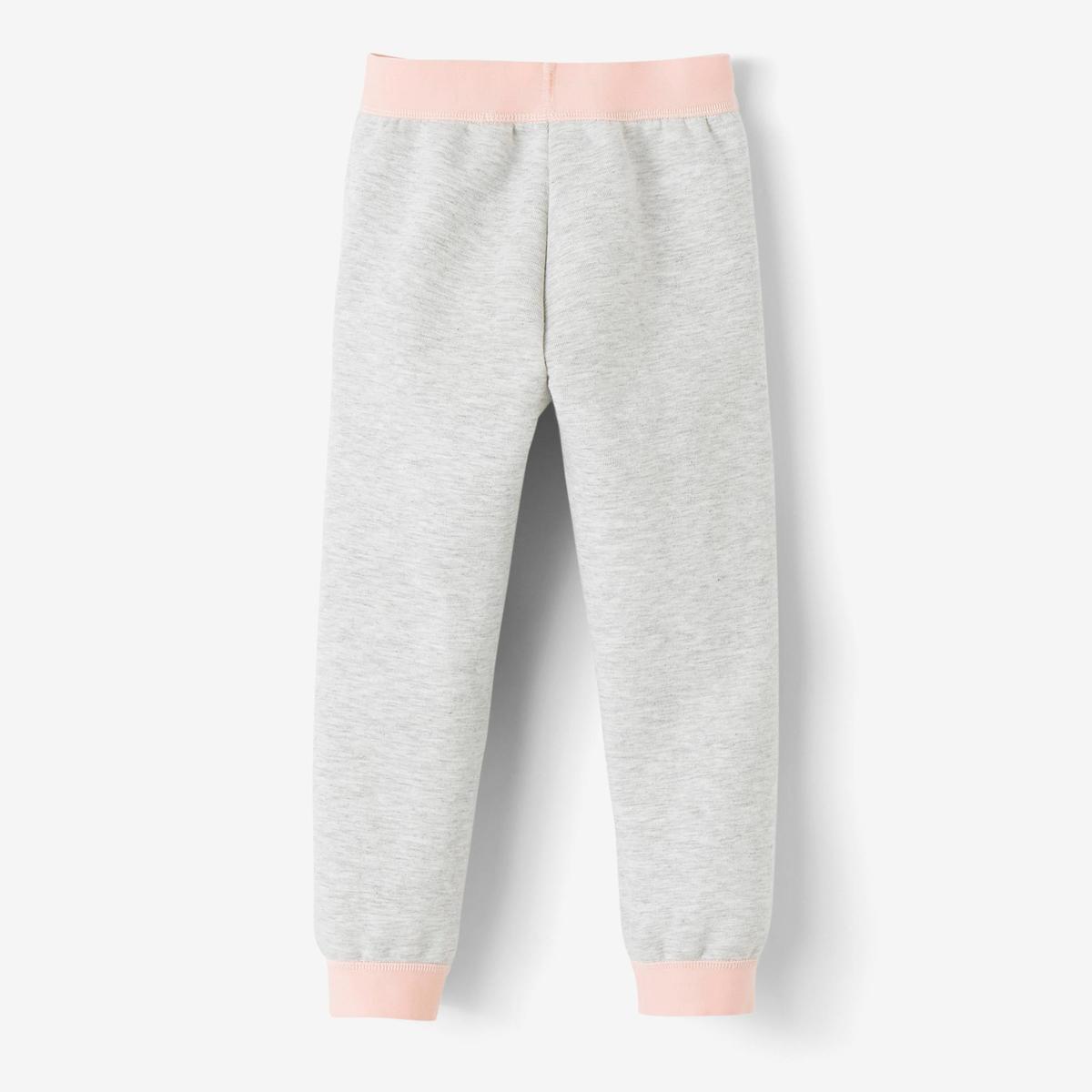 Bild 3 von Jogginghose 500 Babyturnen grau/rosa