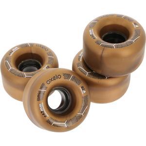 Rollschuh-Rollen Quad Erwachsene 62mm 82A 4 Stück bronze