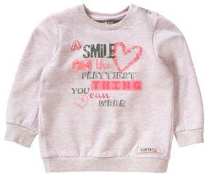 Sweatshirt , Herz Gr. 116 Mädchen Kinder